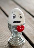 Easter hipster egg — Foto Stock