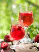 Meyve limonata veya sangria — Stok fotoğraf