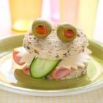 Delicious sandwich — Stock Photo #48167985