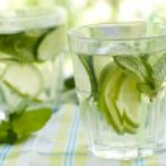 Cold lemonade drinks — Stock Photo #48238751