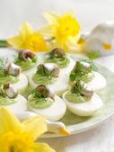 Deviled eggs — Stock Photo