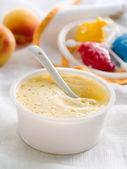 Porridge for baby. — Stock Photo