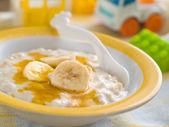 Porridge for baby — Stock Photo