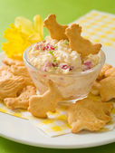 Easter appetizer — Stock Photo