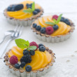 Fresh berry tarts — Stock Photo #48251735