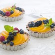 Fresh berry tarts — Stock Photo #48251761