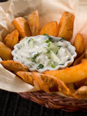 Trempette tzatziki traditionnel — Photo