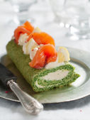 Spinach roll — Foto Stock