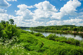 Dvina River — Stock Photo
