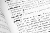 Definición de diccionario de valor — Foto de Stock