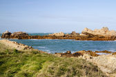 Coastal scene on guernsey,  Channel Islands — Stock Photo