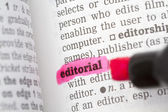 Editorial  Dictionary Definition — Stock Photo
