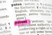 Patent Dictionary Definition — Stock Photo
