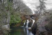 Kırsal kesimde şelale — Stok fotoğraf