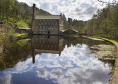 Gibson Mill in Hardcastle Crags — Stock Photo