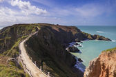 La Coupee on Sark — Stock Photo