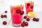 вишневый лимонад — Стоковое фото
