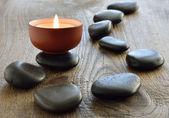 Aroma candle — Stock Photo