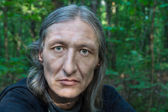 Orta yaşlı bir adam portresi — Stok fotoğraf