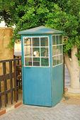 电话亭,付费电话 — 图库照片