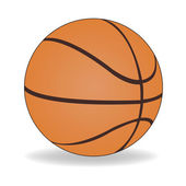 Basketball ball — Vetorial Stock