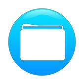 Folder app — Stock Vector