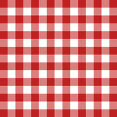 Red tablecloth vector — Stock Vector