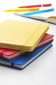 Colorful notebooks — Stock Photo
