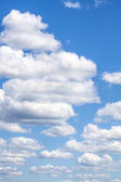 Cirrus clouds with blue sky — Stock Photo