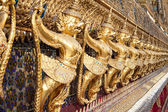 Garuda Pattern at Temple of Emerald Buddha, Wat Phra Kaew (Bangk — Stock Photo