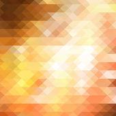 Sarı üçgen arka plan — Stok Vektör