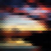 закат треугольник абстрактный фон — Cтоковый вектор