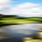 自然のベクトルの背景 — ストックベクタ