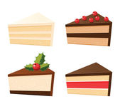 Set of cakes — Stock Vector