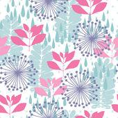 Nature seamless pattern — Stock Vector