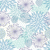 Pastel floral pattern — Stock Vector