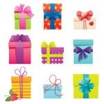 Gift set — Stock Vector #51011875