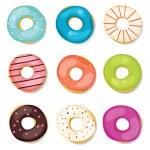 ������, ������: Donuts set