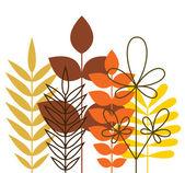 Autumn foliage — Stock Vector