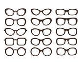 Glasses set — Stock Vector