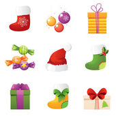 Gifts for New Year — Stock Vector