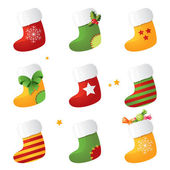 Stocking set — Stock Vector