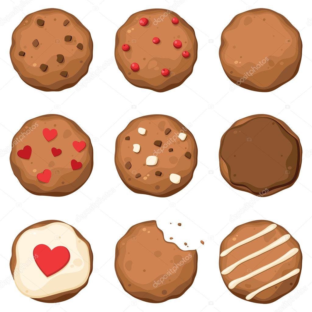 美味饼干 — 图库矢量图像08