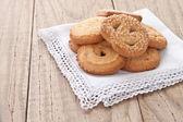 Galletas de mantequilla danesa — Foto de Stock