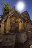Fatiscente edificio ol Avana — Foto Stock