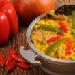 Typical cuban food — Stock Photo #48428661
