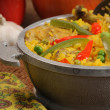 Cuban dish - salted rice with chicken — Stock Photo