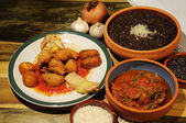 Cuban dishes — Stock Photo