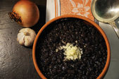 Cuban black beans — Stock Photo