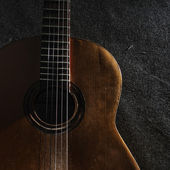 Guitar still life — Stock Photo